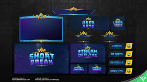 Twitch Stream Design New Realm Royale Animated Stream Design For Twitch And Mixer