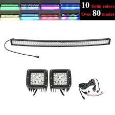 50 Inch Light Bar Halo Amazon Com Digo Curved 288w 50inch Led Fog Lights