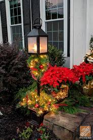 Small Picture Holiday Door Decorating Ideas for Your Small Porch The Home Depot