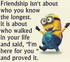 Top 40 Famous Minion Friendship Quotes Quotes And Humor Best Serious Quotes On Friendship