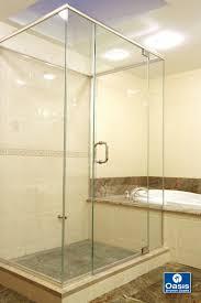 glass shower enclosures delta shower stalls shower door installation