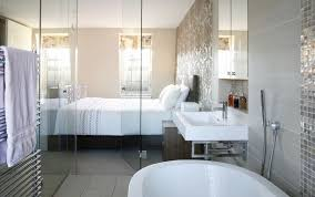 transpa glass wall and door for bathroom