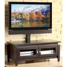 Tv Stand Whalen 3 Tier Cherry Brown Flat Panel Tv Stand For Tvs Up To 50