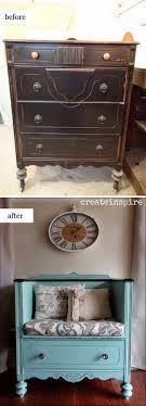 repurpose old furniture. 1 DIY Drawer Shelves Repurpose Old Furniture I