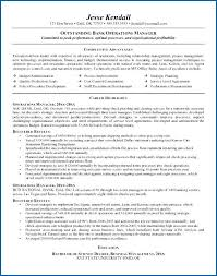 Operations Manager Resume Sample Beautiful Facility Operations