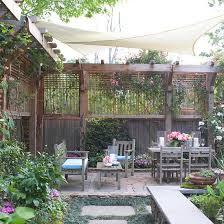 Holz Zaun Pergola Sichtschutz Oben Selber Bauen  Pinterest