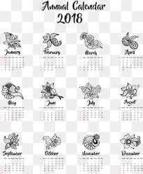 Calendar Template Png 2018 Calendar Png Vectors Psd And Clipart For Free Download Pngtree