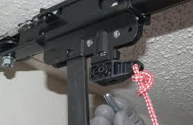 chamberlain garage door opener trolley stuck