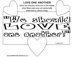 Small Picture Love One Another Sunday School Lesson 1 John 311 24 April 12