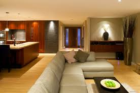 Open Concept Living Room Decorating Interior Design Open Kitchen Living Room Granite Island Spaces