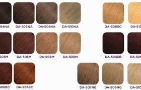 Matrix Hair Color Chart Lajoshrich Com