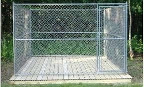 floor outdoor dog kennel flooring floor idea on your home