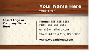 Free Business Card Templates For Word Free Business Card Templates