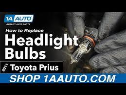 2013 Prius Bulb Chart How To Replace Headlight Bulbs 10 15 Toyota Prius