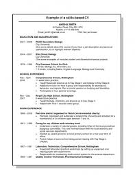 Skills For Resume Example How To Write My On A Leadership 1299 Sevte