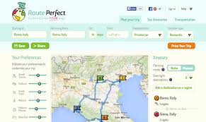 Driving Trip Planner Travel Website Of The Week Routeperfect Trip Planner