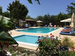 the swimming pool at or close to paradise garden apartments