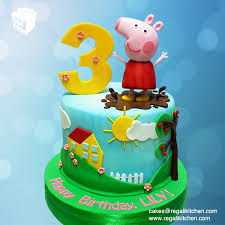 Peppa Pig Cake Cakes By The Regali Kitchen
