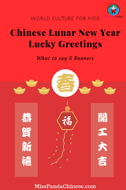 The year of the pig may begin on february 5, but the parties go on for days. Chinese Culture For Kids Chinese New Year Must Know Lucky Phrases