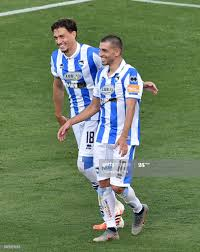 Manuel Pucciarelli of Pescara Calcio celebrates after scoring opening...  News Photo - Getty Images