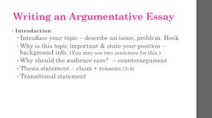 argumentative essay take notes ppt video online  writing an argumentative essay