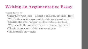 argumentative essay take notes ppt video online  writing an argumentative essay