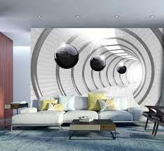 Wall Mural Futuristic Tunnel ...