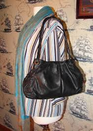 b makowsky black leather shoulder bag and 20 similar items 043