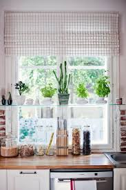 glass kitchen shelf
