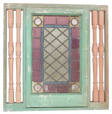 use glass paint to create vintage looking stained glass antique window