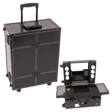 Sunrise Makeup Case With Lights Sunrise Black Crocodile Rolling Makeup Case Today 245 28 On