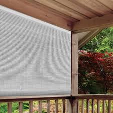 Radiance White Cordless Light Filtering Uv Protection Pvc
