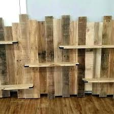 wood pallet shelf making shelves from pallets best pallet shelves