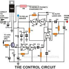 build a homemade gsm car security system electronic circuit projects making a cell phone controlled remote bell circuit homemade