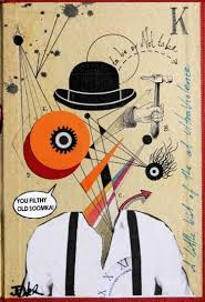 best louis jover images saatchi art art  a clockwork orange essay topics