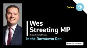 Wes Streeting in the Downtown Den – Downtown in Business
