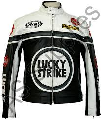 lucky strike leather jacket