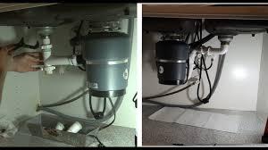 Garbage Disposal Swap Drain And Garbage Disposal Double Sink Youtube