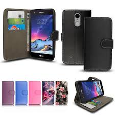 lg k8 2017. image is loading premium-leather-side-wallet-flip-case-cover-for- lg k8 2017