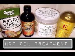 hot oil treatment for dry natural hair