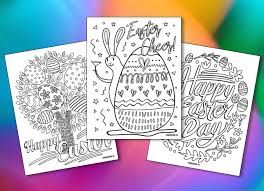 Probably bunny coloring pages, easter egg coloring pages, lily pages to color and other images of spring coloring pages. 5 Free Printable Easter Coloring Pages For Adults That Will Relieve Holiday Stress