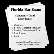 Bar Exam Essays Fl Bar Exam Essays Commonly Tested Issues Aplus Ebooks