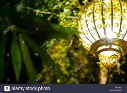 moroccan outdoor lighting. Outdoor Lighting In A Moroccan Restaurant Marrakech - Stock Image S