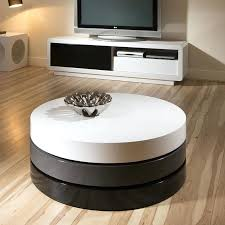 white gloss round coffee table addicts uk