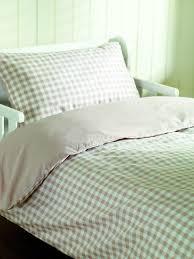 baby blue gingham cot bedding bedroom