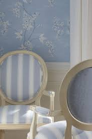 Ethan Allen Wallpaper Designs Ethan Allen Blue Dining Rooms Icy Blue And White Patterns