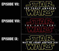Star Wars Quotes Magnificent Star Wars Episode VIII The Last Jedi FFXIAH