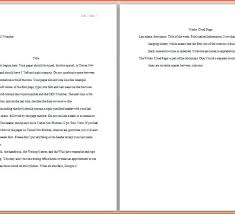 academic paper format academic paper format apa components formatting rules for your