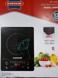 SIÊU RẺ] BẾP ĐIỆN TỪ CẢM ỨNG SUNHOUSE -SHD-6863, Giá siêu rẻ 989,000đ! Mua  liền tay! - SaleZone Store