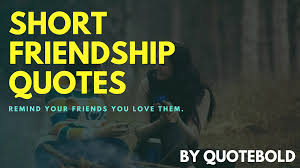 67 Short Friendship Quotes Images Free Ebook Quotebold